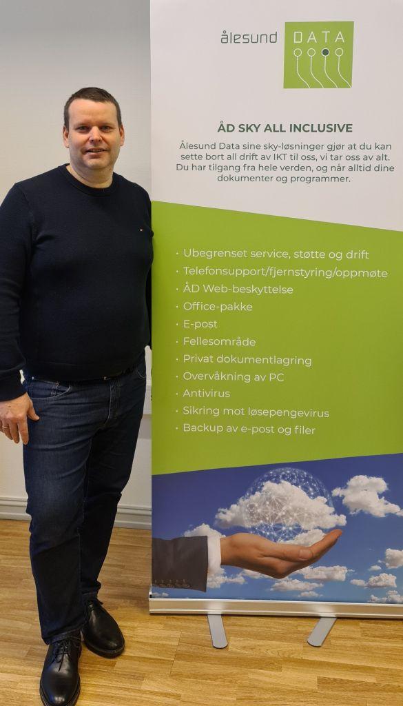 Roar Pedersen, daglig leder i Ålesund Data.